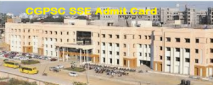cgpsc sse admit card