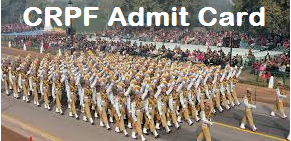 crpf hc admit card