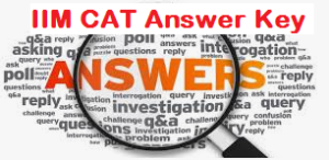 iim cat answer key
