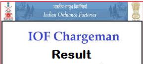 iof chargeman result