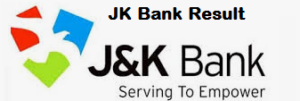 jk bank associate result