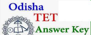 odisha tet answer key