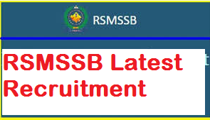 rsmssb recruitment 2019