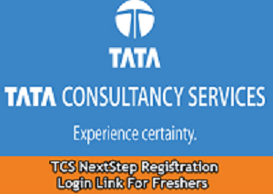 tcs nextstep registration login