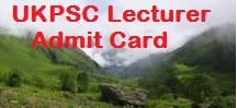 ukpsc lecturer admit card