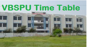 vbspu time table