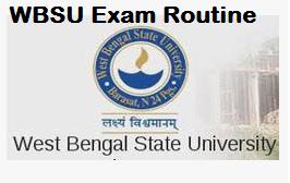 wbsu exam routine